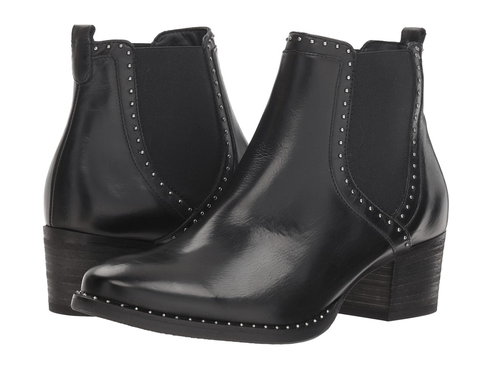 Paul Green Texas Boot (Black Leather)