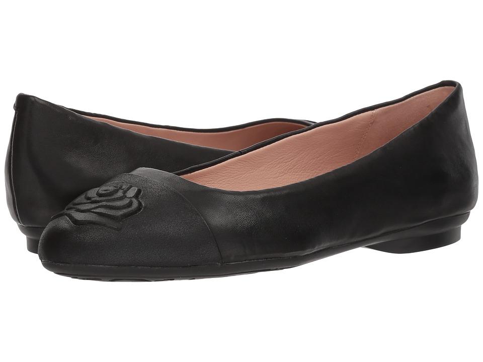 Taryn Rose - Annabella (Black Nappa/Night Metallic) Womens Shoes