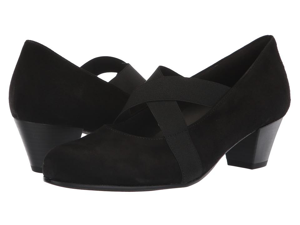 Gabor Gabor 96.146 (Black) Slip-On Shoes