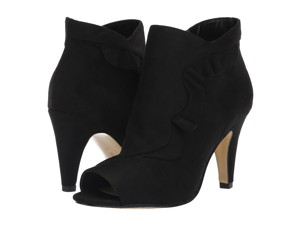 Bella-Vita Nicolette II (Black Super Suede) High Heels