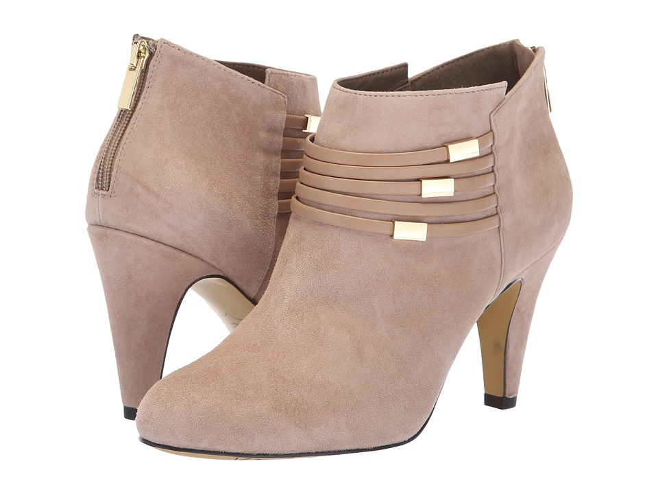 Bella-Vita Nerissa (Almond Kid Suede Leather/Almond) High Heels