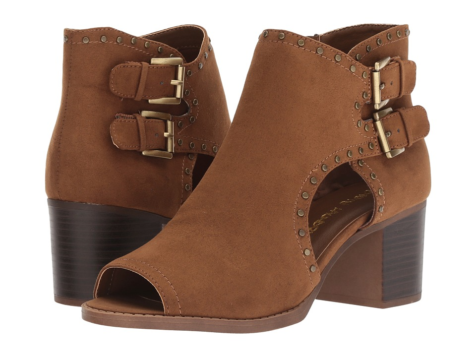 Dirty Laundry Tensley Micro Suede (Chestnut) Women's Shoes