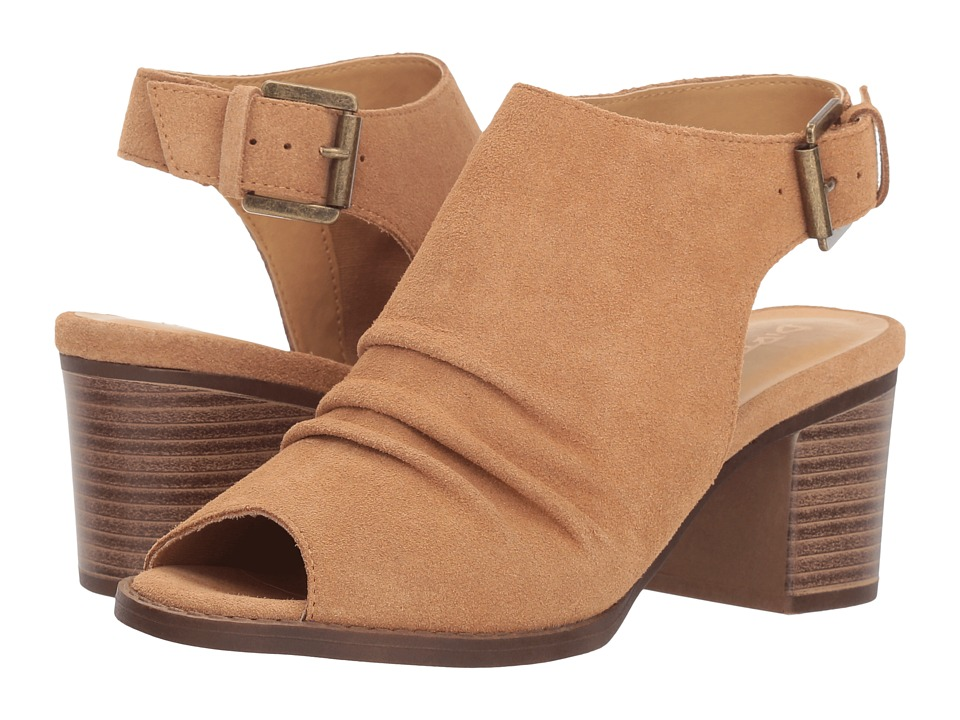 Dirty Laundry Tena Split Suede (Camel) Women's Shoes