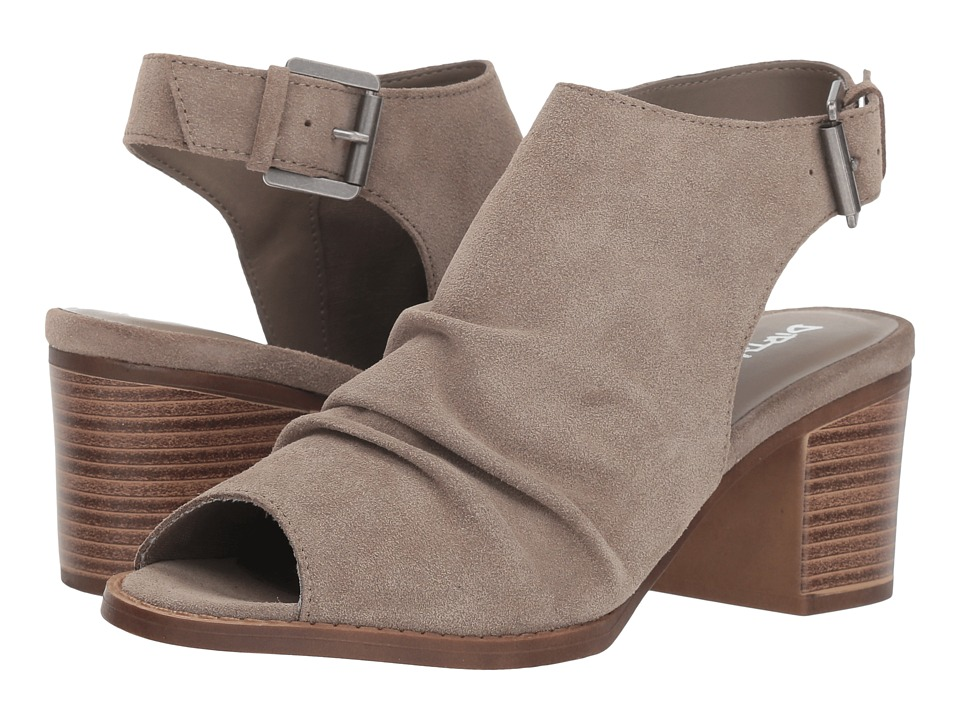 Dirty Laundry Tena Split Suede (Feather Grey) Women's Shoes