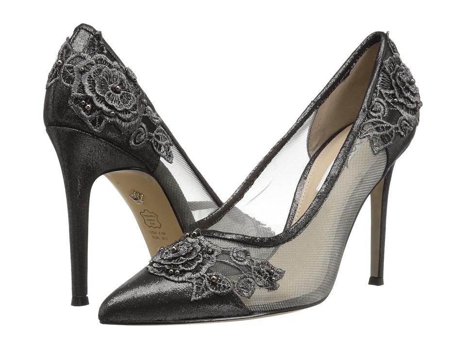 Nina Donela (Gunmetal Reflective Suedette) High Heels