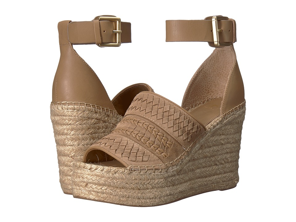 Marc Fisher LTD Alina Espadrille Wedge (Natural Suede) Women