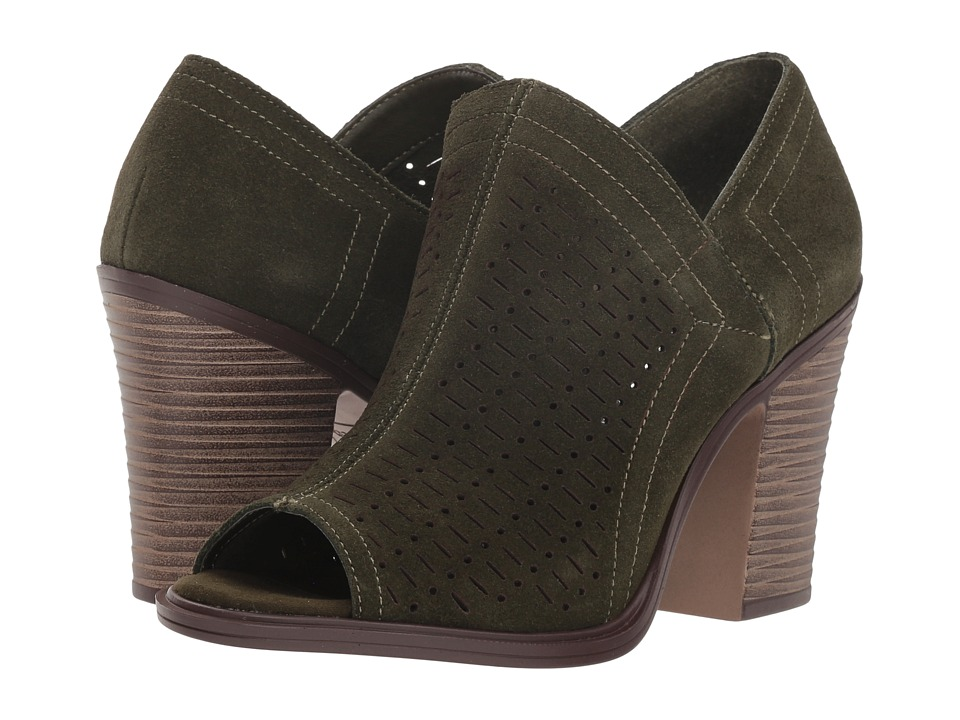 Dirty Laundry Aida Split Suede (Olive) Women's Shoes