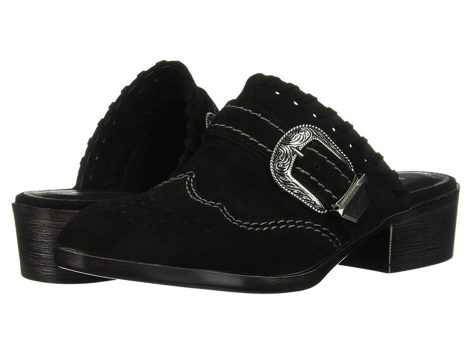Dirty Laundry Waltz Split Suede (Black) Women's Shoes