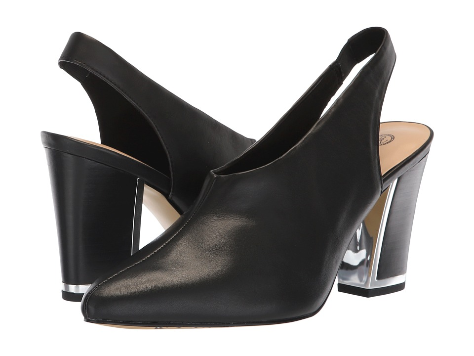 Bella-Vita Gabriella (Black Leather) High Heels