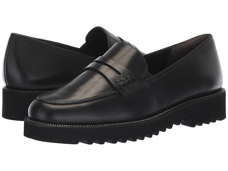 Paul Green Kianna (Black Soft Patent) Slip-On Shoes