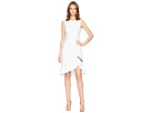 Calvin Klein Calvin Klein Ruffle Hem with Button Detail Dress CD8C15LV