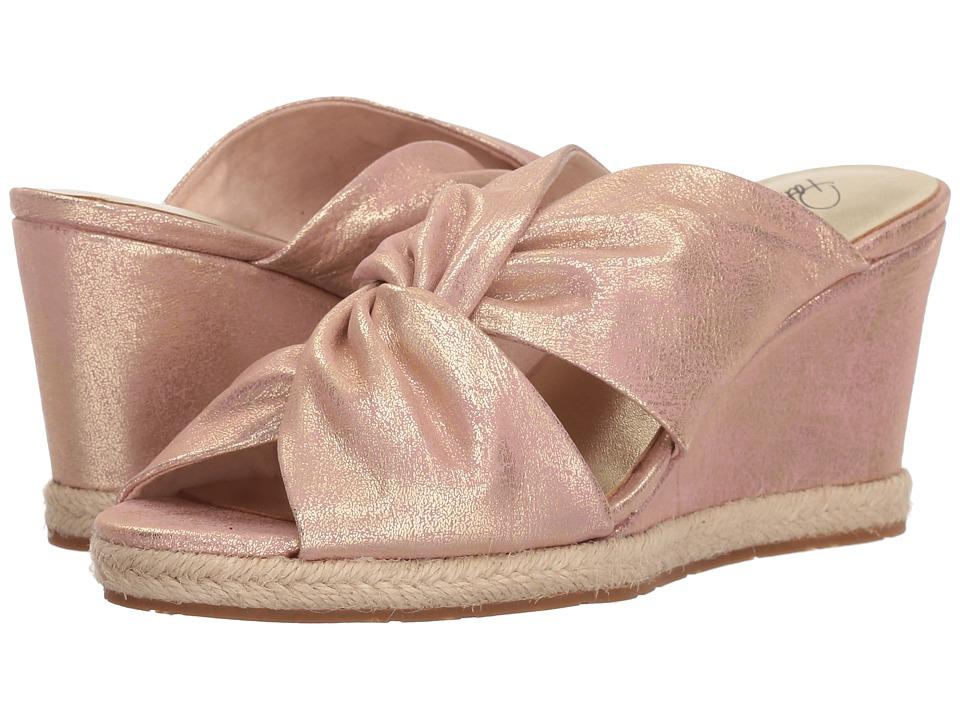 Patricia Nash - Ricarda (Pink Metallic) Womens Wedge Shoes