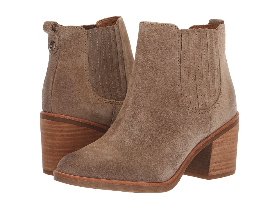 Sofft Sadova (Light Grey Oiled Cow Suede) Women's Pull-on Boots