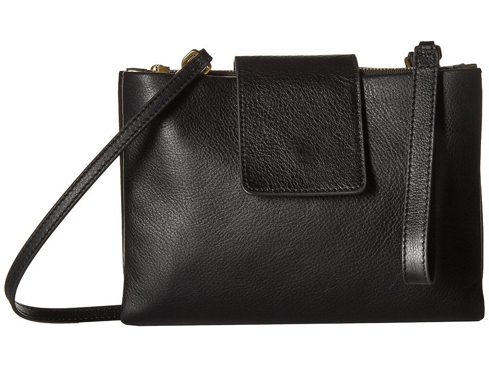 Fossil - Carly Mini Bag (Black) Bags