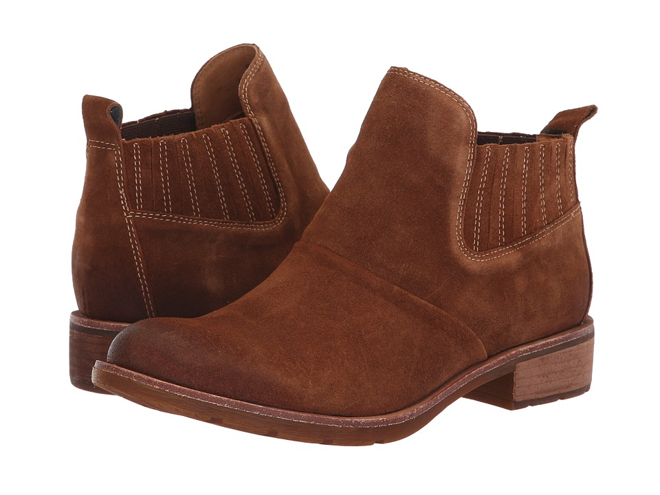 Sofft Bellis (Light Brown Cow Suede) Women's Pull-on Boots