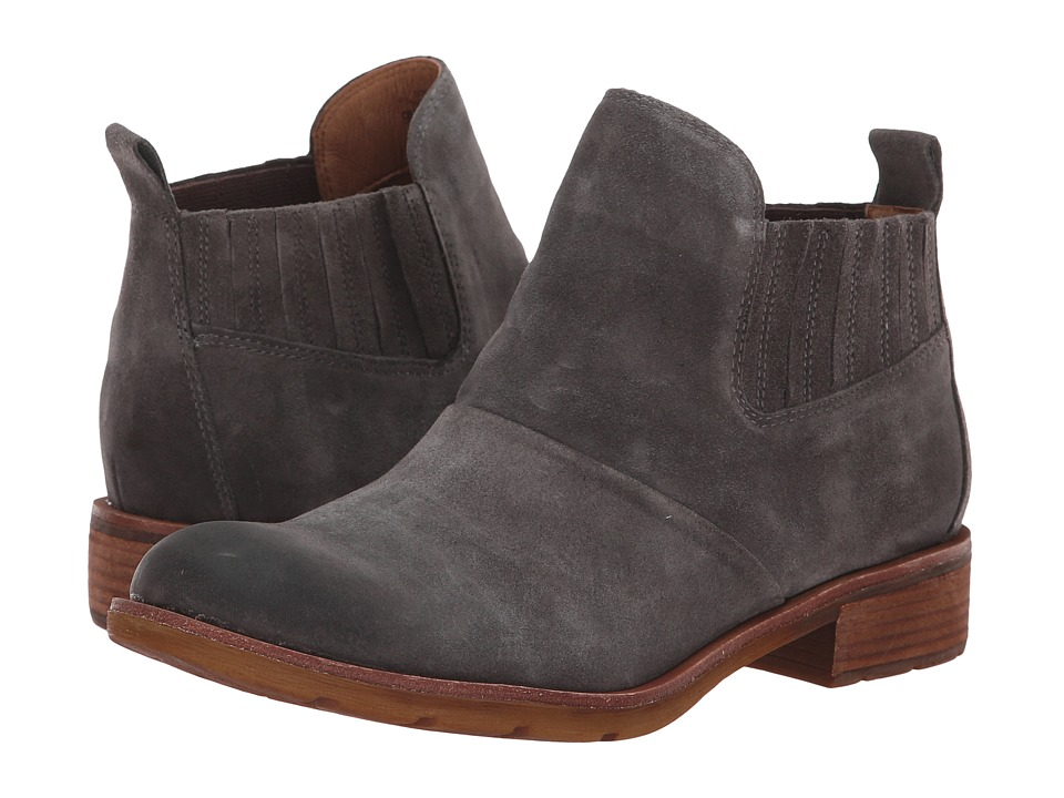 Sofft Bellis (Steel Grey Cow Suede) Women's Pull-on Boots