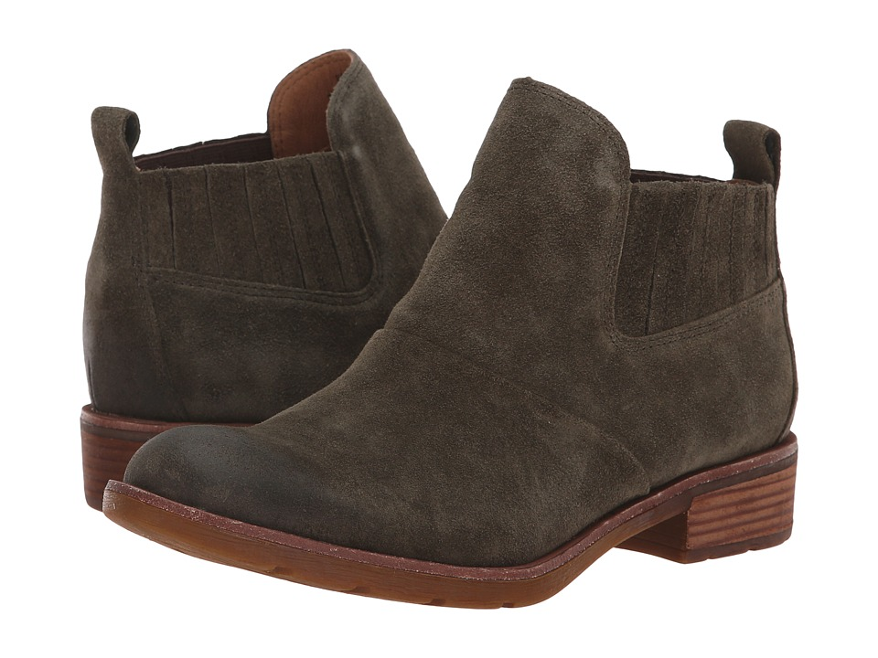 Sofft Bellis (Army Green Cow Suede) Women's Pull-on Boots