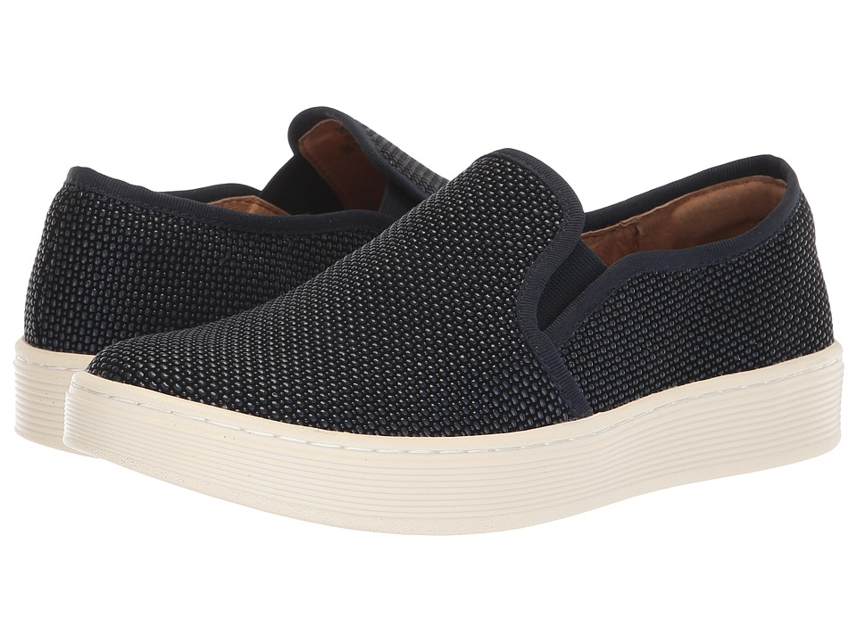 Sofft Somers (Navy Raindrop Suede) Slip-On Shoes