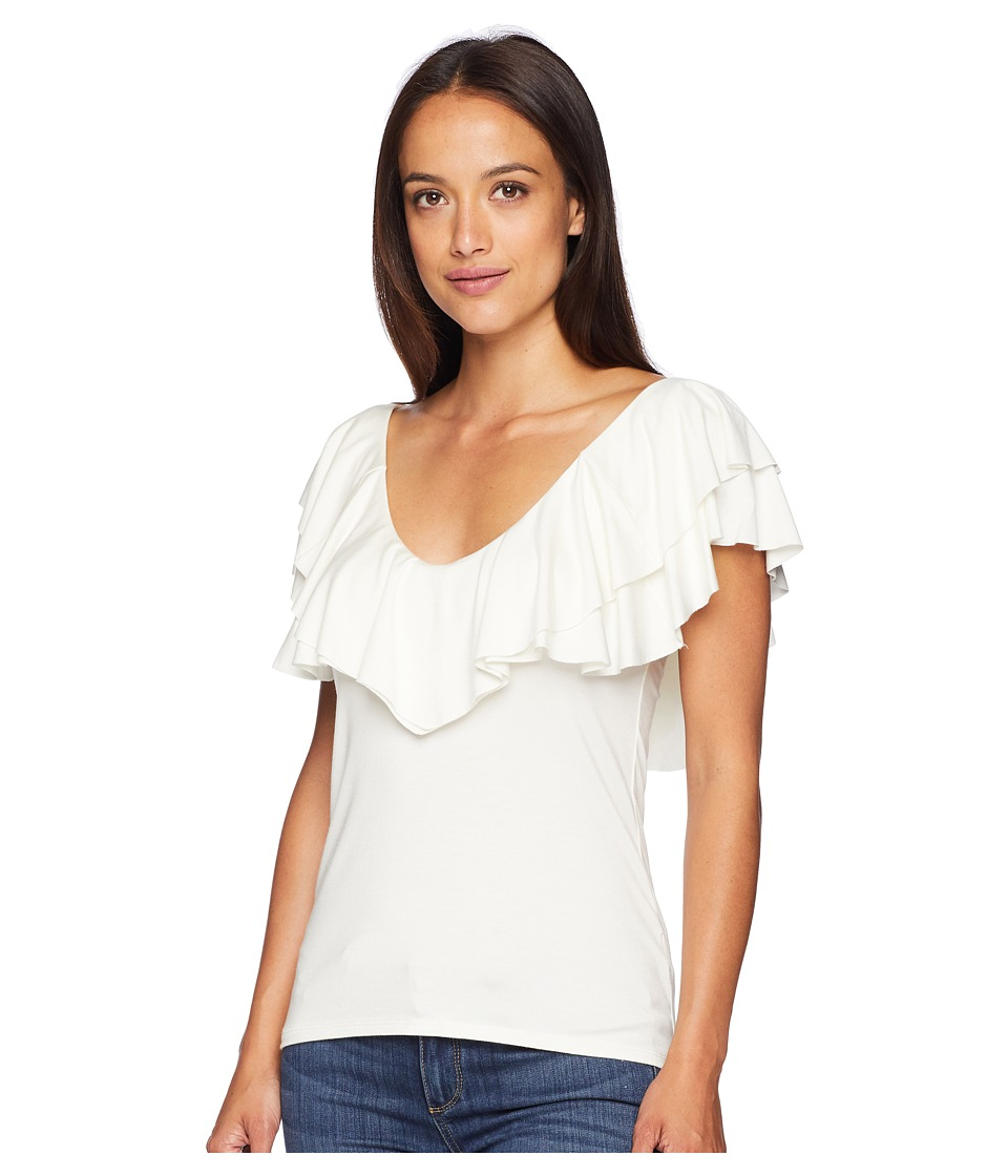 Rachel Pally - Amber Top (White) Womens Clothing