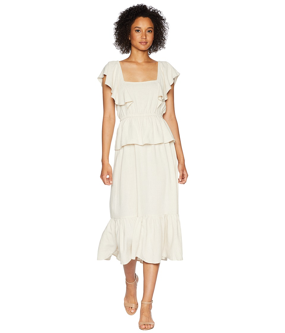Rachel Pally - Linen Mariah Dress (Natural) Womens Dress