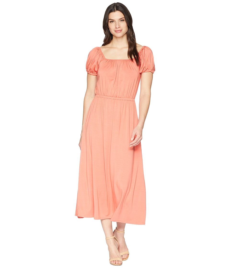 Rachel Pally - Kristin Dress (Coral) Womens Dress