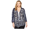 NIC+ZOE Plus Size Pacific Coast Four-Way Cardy
