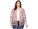 NIC+ZOE Plus Size Painted Desert Cardy