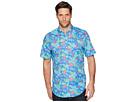 Vineyard Vines Cay Floral Short Sleeve Classic Tucker Shirt