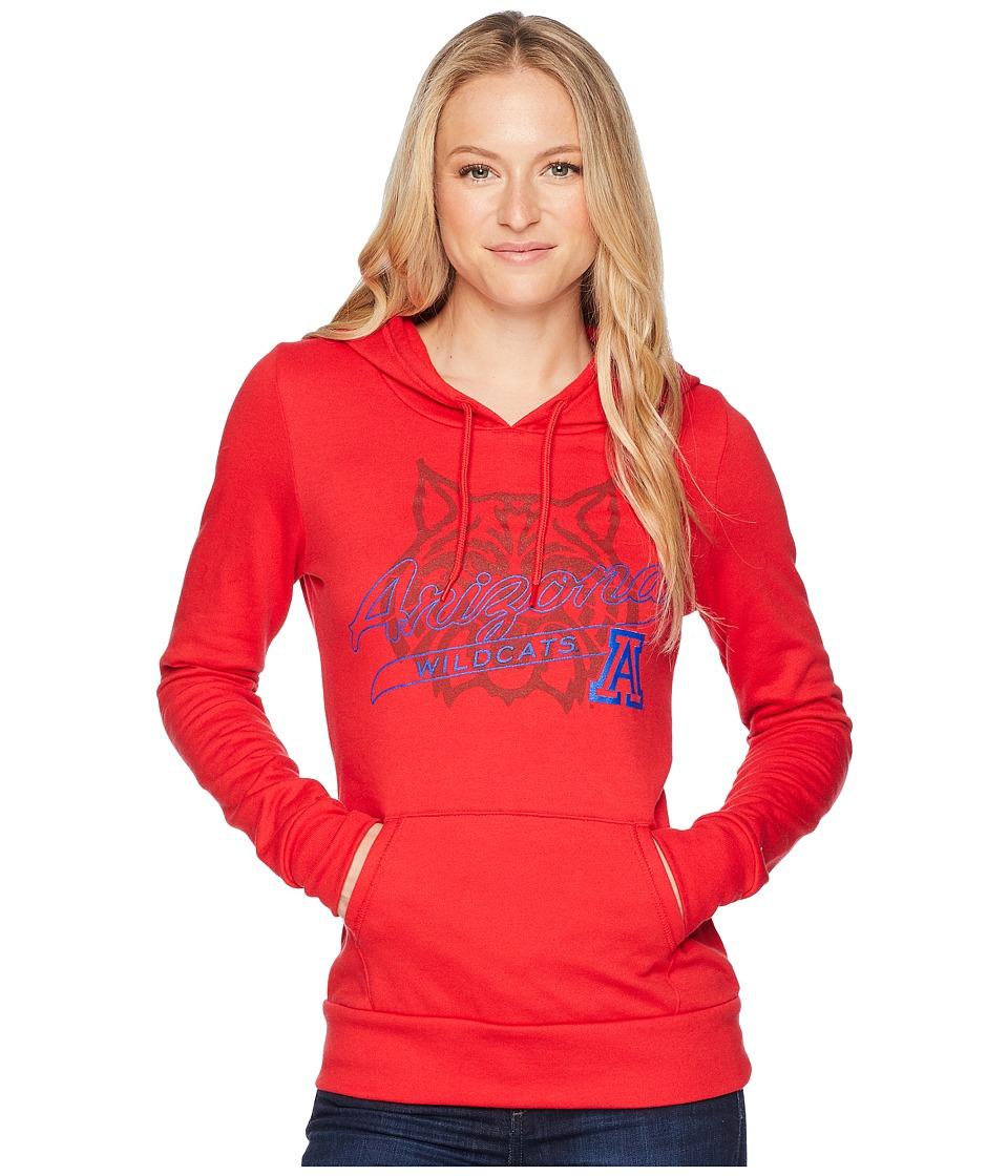 Champion College - Arizona Wildcats Eco University Fleece Hoodie (Scarlet) Womens Sweatshirt