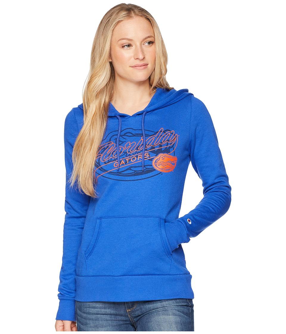 Champion College - Florida Gators Eco University Fleece Hoodie (Royal) Womens Sweatshirt