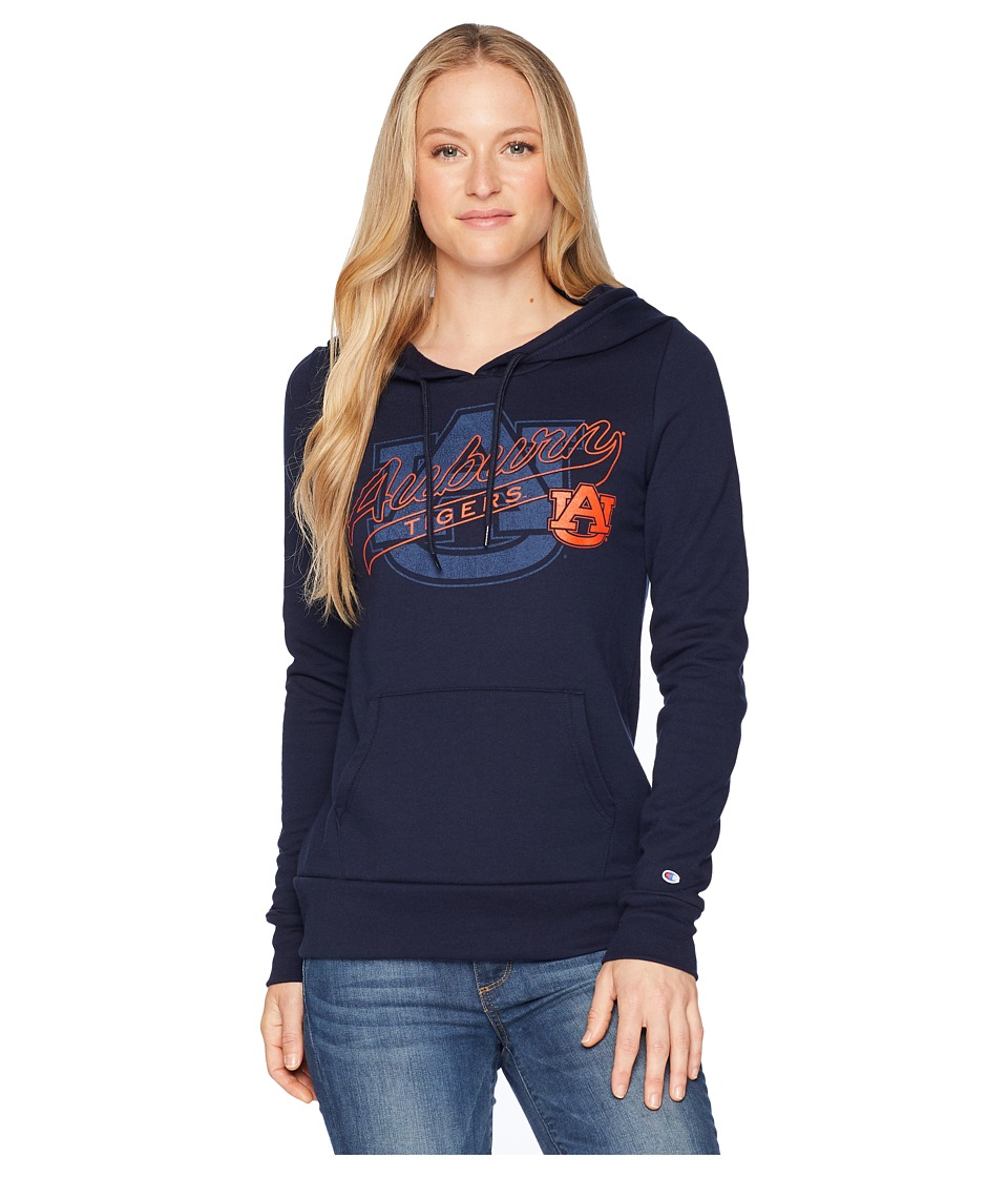 Champion College - Auburn Tigers Eco University Fleece Hoodie (Navy) Womens Sweatshirt