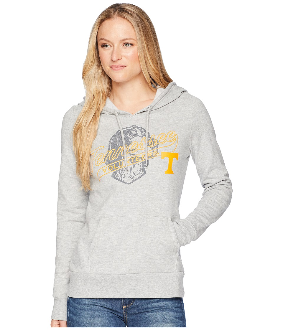 Champion College - Tennessee Volunteers Eco University Fleece Hoodie (Oxford Grey) Womens Sweatshirt