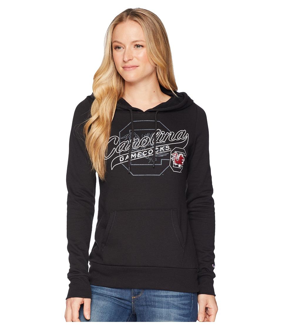 Champion College - South Carolina Gamecocks Eco University Fleece Hoodie (Black) Womens Sweatshirt