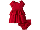 Kate Spade New York Kids Peplum Waist Dress (Infant)