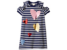 Kate Spade New York Kids Tossed Hearts Striped Dress (Little Kids/Big Kids)