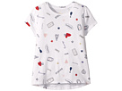 Kate Spade New York Kids Doodle Tee (Little Kids/Big Kids)