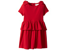 Kate Spade New York Kids Pepulum Waist Dress (Toddler/Little Kids)