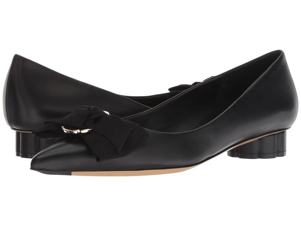 Salvatore Ferragamo Talla 20 (Nero New Nappa VI) Slip-On Shoes
