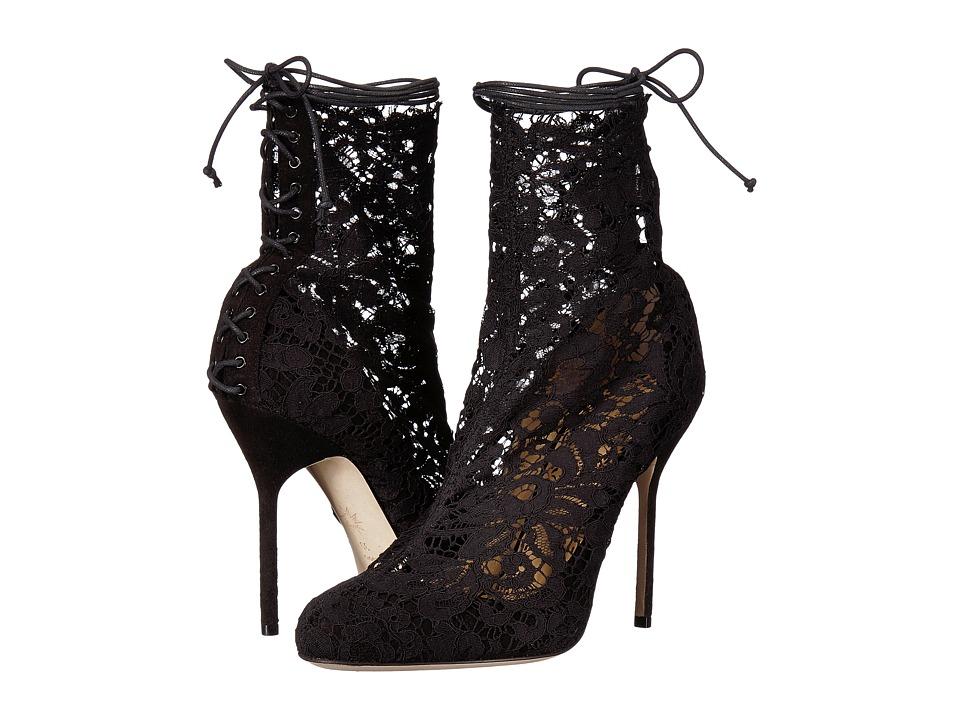 Marchesa - Mia (Black Lace) Womens Shoes