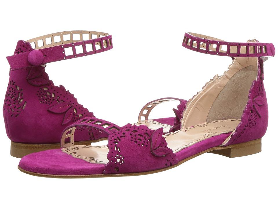 Marchesa - Lenny (Fuchsia Suede) Womens Shoes