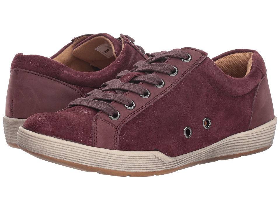 Comfortiva Lyons (Cordovan Distressed Foil Suede/Vineyard Wine La Mesa) Women's Shoes