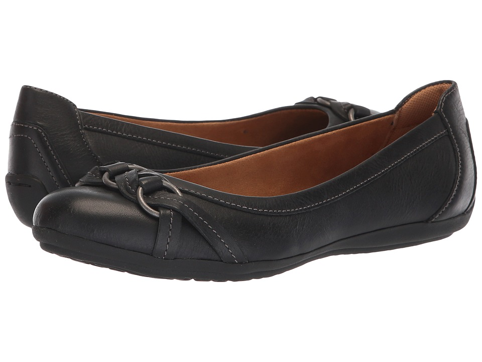 Comfortiva Maloree (Black Duster) Flats