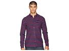 Scotch & Soda Ams Blauw Regular Fit Pure Indigo Shirt