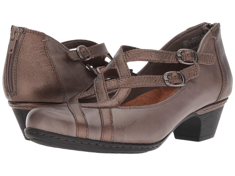 Rockport Cobb Hill Collection Abbott Curvy Shoe (Grey Multi) Women's Shoes