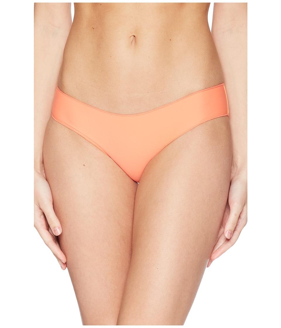 Rip Curl - Classic Surf Hipster Bikini Bottom (Coral) Womens Swimwear