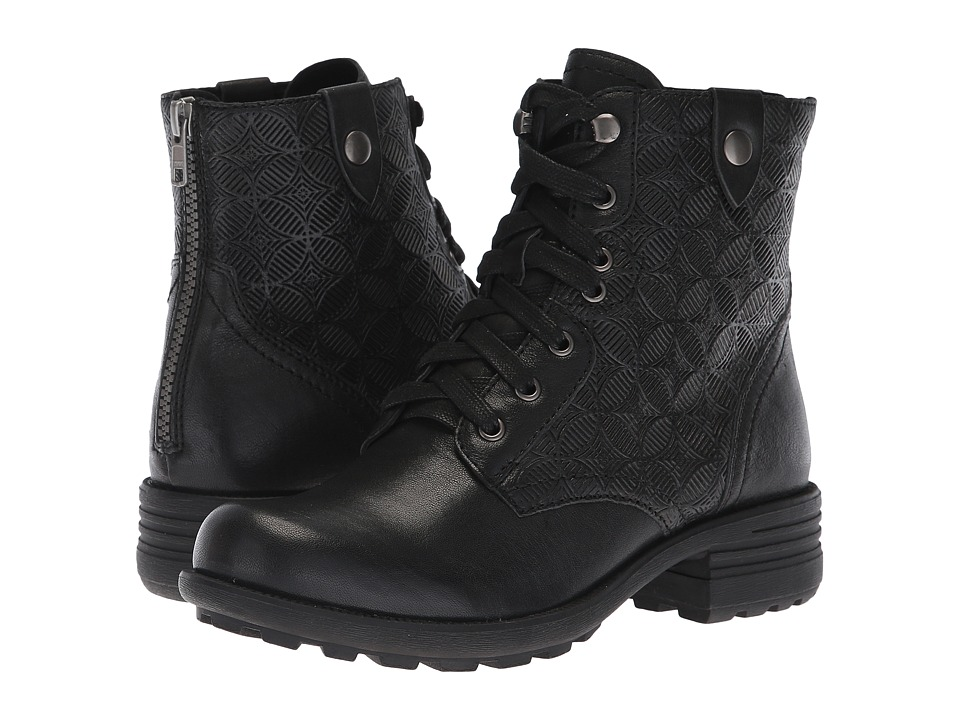 Rockport Cobb Hill Collection Cobb Hill Brunswick Lace Boot (Black Leather)