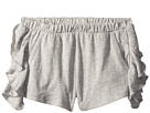 Chaser Kids Super Soft Ruffle Side Shorts (Toddler/Little Kids)
