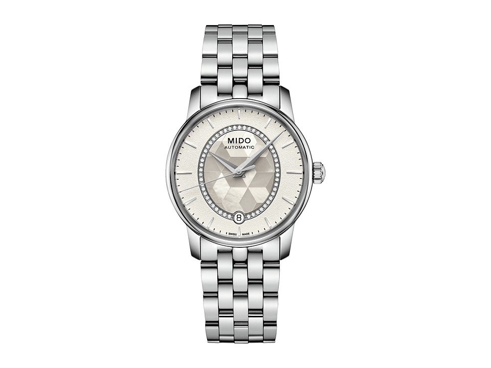 Mido - Baroncelli Prisma - M0072071111600 (White Mother of Pearl/Steel) Watches