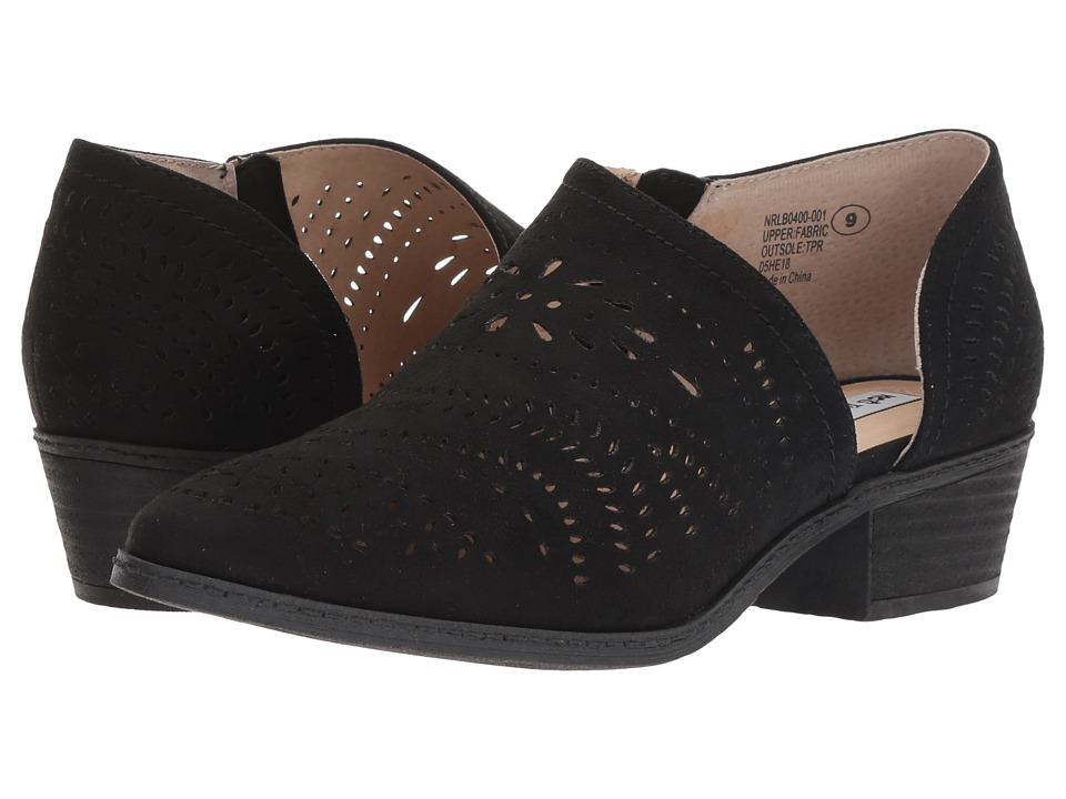 Not Rated Anouk (Black Microfiber) Women's Shoes