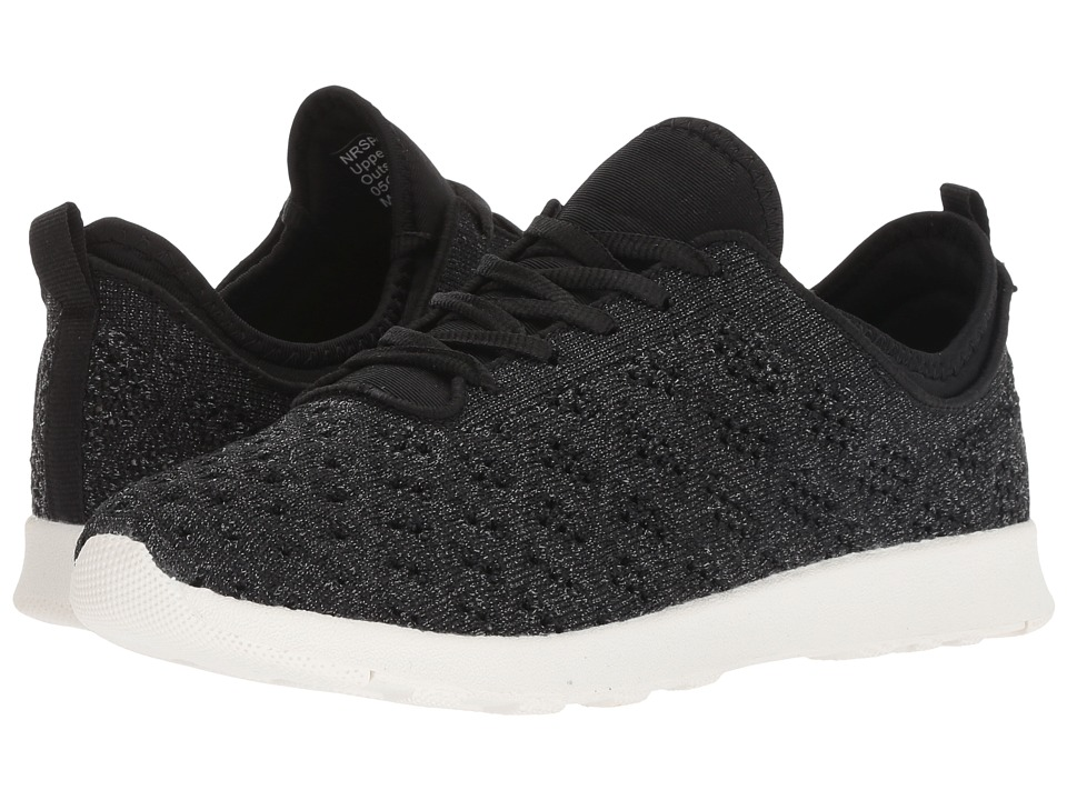 Not Rated Dessa (Black Knit) Women's Shoes